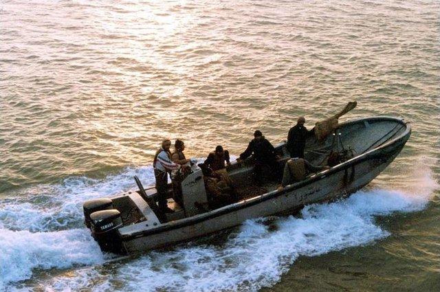 Năm 1987, khi Mỹ tham gia cuộc chiến chống Iran – Iraq để bảo vệ Kuwait, cá heo đã được triển khai để bảo vệ tàu chiến thuộc Hạm đội 3 thả neo ở Bahrain.