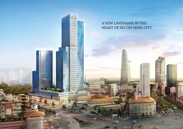 Những dự án chân dài đã và đang được xây dựng bao quanh chợ Bến Thành, quận 1