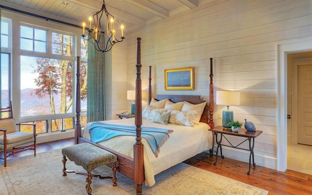 Phòng ngủ view thẳng ra núi