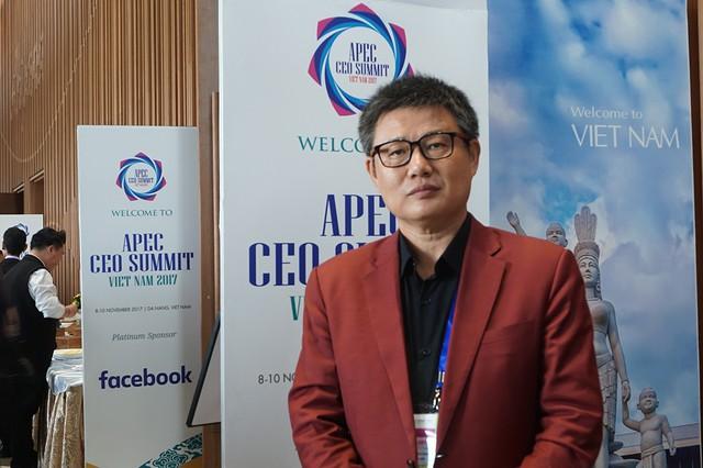 Ông Guo Zhi Feng, CEO của Chicilon Media.