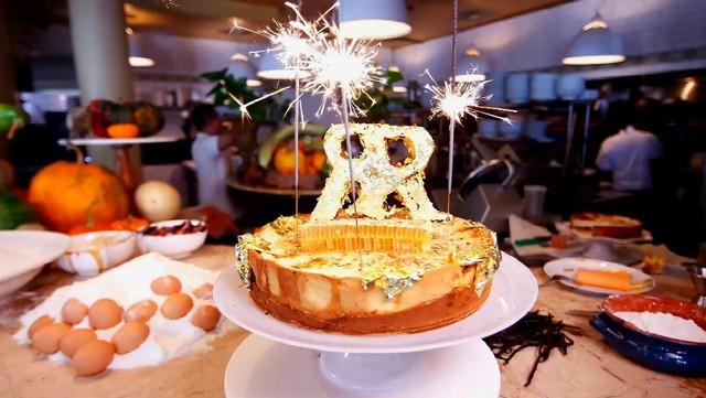Chiếc bánh Cheesecake được ghi vào kỷ lục Guinness thế giới