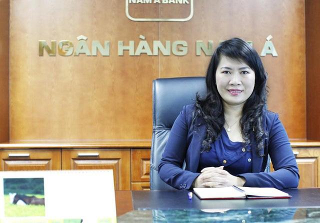Bà Lương Thị Cẩm Tú - Tổng giám đốc ngân hàng Nam Á.