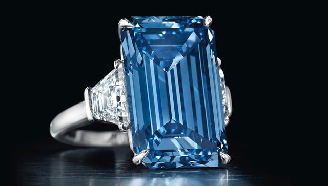 Viên kim cương đắt giá nhất thế giới Oppenheimer Blue 14,62.