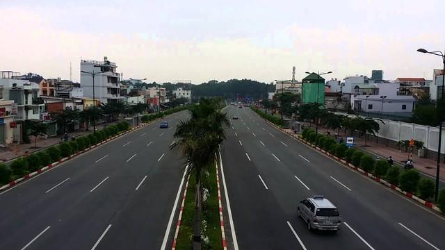 Đại lộ Phạm Văn Đồng vừa được TP.HCM đưa vào khai thác toàn tuyến từ sân bay đến quận Thủ Đức.
