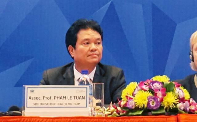 Thứ trưởng Bộ Y tế Phạm Lê Tuấn. Ảnh: Linh Anh