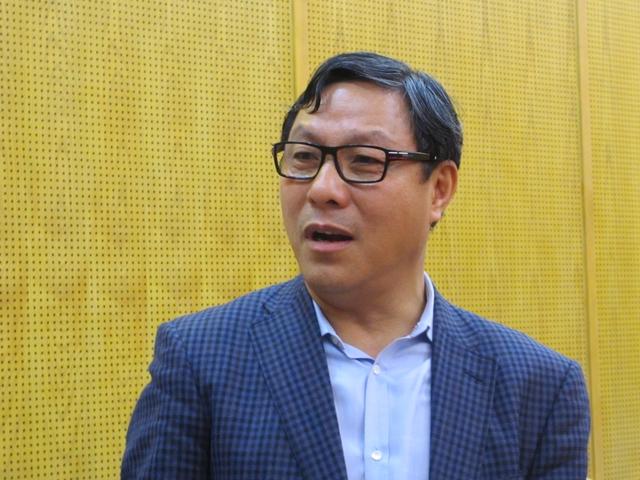 """Ông Đặng Huy Đông: """"Tôi đã giới thiệu về công nghệ nước sạch đến một doanh nghiệp xây dựng bất động sản. Với công nghệ này, chúng ta có nước uống trực tiếp tại vòi""""."""