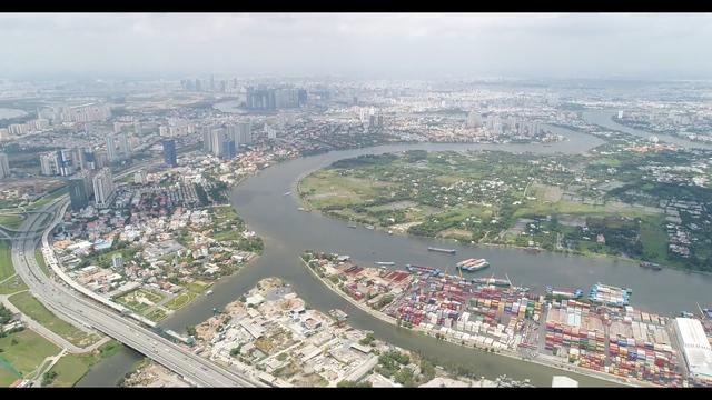 Diện mạo khu Đông đã thay đổi nhanh chóng chỉ sau 2 năm khởi công dự án tuyến metro số 1