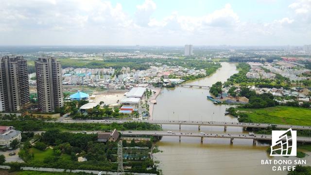 Hạ tầng giao thông kết nối duy nhất giữa trung tâm Phú Mỹ Hưng với khu đô thị cảng Hiệp Phước, huyện Nhà Bè.