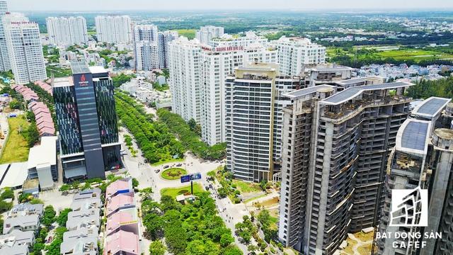 Những tuyến đường ngập dự án nhà ở cao tầng ngay trung tâm TP.HCM
