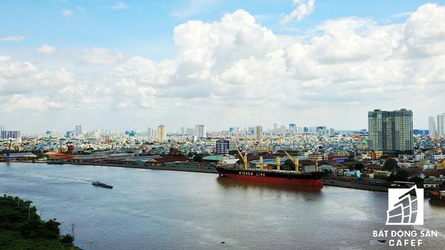 Khu vực này sắp tới sẽ là bến cảng dịch vụ, đô thị và du lịch cao cấp của TP.HCM.