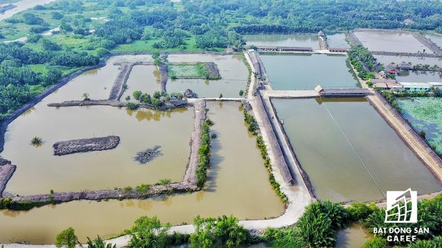Dư án được quy hoạch xây dựng ngay trung tâm khu Đông Sài Gòn, cạnh khu đô thị mới Thủ Thiêm, một phần giáp với tuyến đường cao tốc TP.HCM - Long Thành - Dầu Giây, một phần giáp với đường Mai Chí Thọ, Xa lộ Hà Nội.