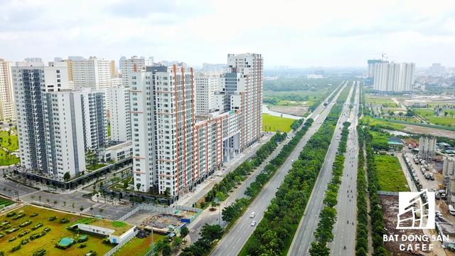 Với hạ tầng kết nối được đầu tư khá hiện đại, không ai nghĩ dự án này là khu tái định cư dành cho người thu nhập thấp