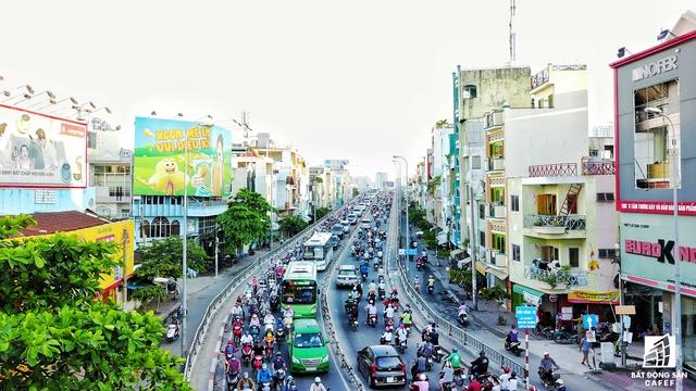 Đoạn đường Nguyễn Hữu Thọ - Khánh Hội trở thành nổi ám ảnh cho mọi người