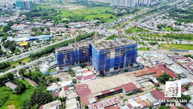 Dự án Centana Thủ Thiêm tọa lạc ngay nút giao Mai Chí Thọ và đường dẫn lên cao tốc TP.HCM - Long Thành - Dầu Giây