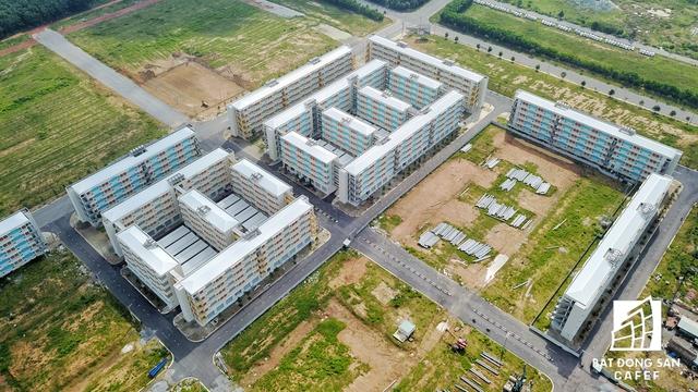 Chủ đầu tư là công ty Becamex đang tiến hành san lắp mặt bằng để chuẩn bị triển khai giai đoạn 2 với hơn 1.000 căn hộ 30m2