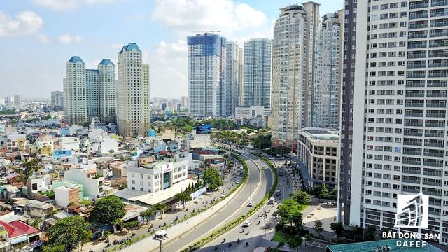 Cung đường này đã và đang mọc lên rất nhiều chung cư cao cấp, tạo nên diện mạo đô thị mới, hiện đại và sầm uất.