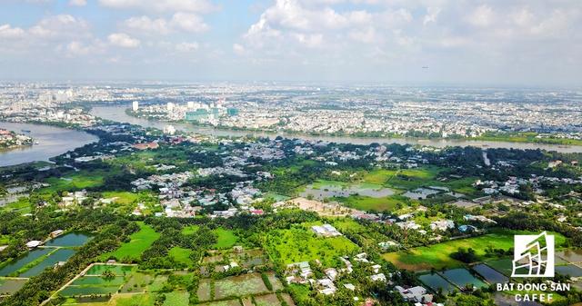 Hơn 50% diện tích đất bán đảo Thanh Đa - Bình Quới hiện là đất nuôi trồng thủy sản, nông nghiệp