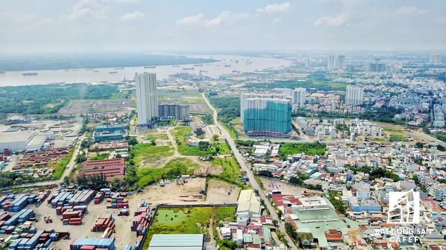 Siêu dự án của Vạn Thịnh Phát ôm trọn một khu vực rộng lớn ngay bờ sông Sài Gòn, thuộc quận 7