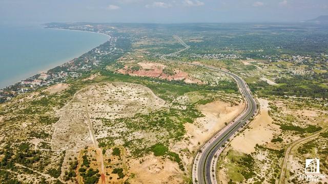 Một số dự án nghỉ dưỡng diện tích lớn đang rục rịch triển khai đầu tư về phía cuối trung tâm Phan Thiết.
