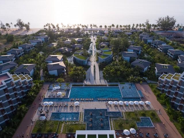 Các dự án được quy hoạch đồng bộ, thiết kế kiến trúc đẹp, có chính sách hoa hồng tốt luôn được giới môi giới bất động sản ưu tiên lựa chọn. Ảnh: dự án Novotel Villas do Hà Phương Land phân phối độc quyền.
