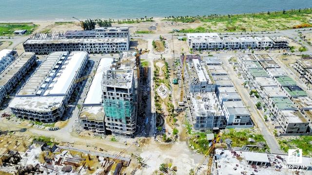 Phần diện tích do công ty Đa Phước phát triển và đầu tư khu phức hợp nghỉ dưỡng