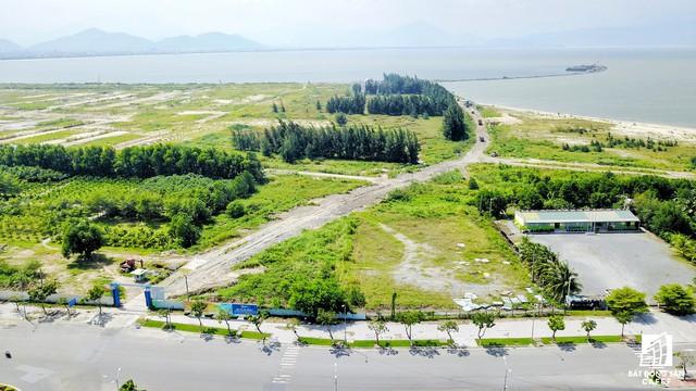 Khu vực dành phần lớn để phát triển hạng mục sân golf.