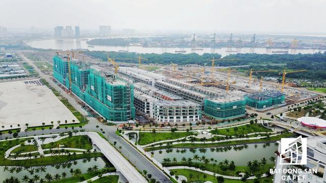 Dự án căn hộ và nhà thấp tầng của ông trùm địa ốc Đại Quang Minh.