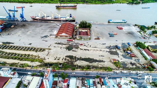 Cảng Nhà Rồng - Khánh Hội đang được đẩy nhanh tiến độ di dời để bàn giao mặt bằng phát triển khu phức hợp đô thị mới.