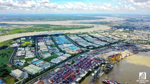 Sau khi được di dời trắng khu vực cảng Tân Thuận sẽ là một siêu đô thị hiện đại, nơi đây còn có dự án cầu Thủ Thiêm 4 đang được TP.HCM xin ý kiến Chính phủ lựa chọn nhà đầu tư.