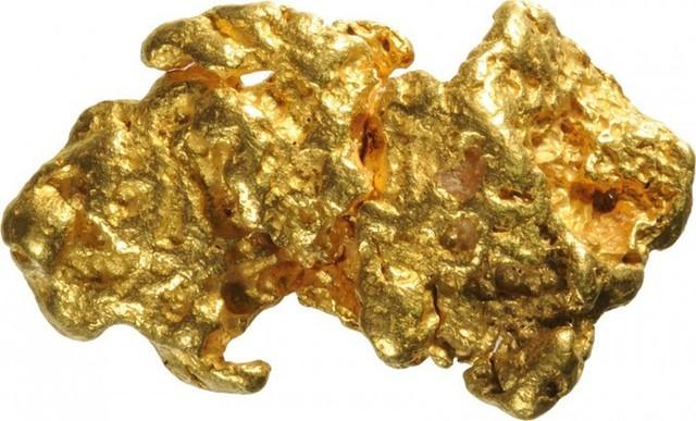 7. Khối vàng tự nhiên nặng hơn 4kg - 460.000 USD: Khối vàng này được bán với mức giá 460.000 USD - gấp hơn 3 lần so với giá trị thực của nó và được cho là khối vàng tự nhiên lớn nhất thế giới.