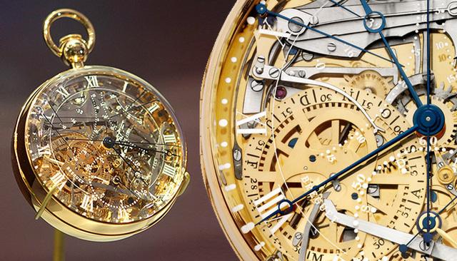 Chiếc đồng hồ này mất 45 năm để hoàn thiện xong. Nó được Abraham-Louis Breguet bắt tay thực hiện năm 1782 nhưng tận đến năm 1827 chiếc đồng hồ mới được hoàn thiện bởi con trai ông.