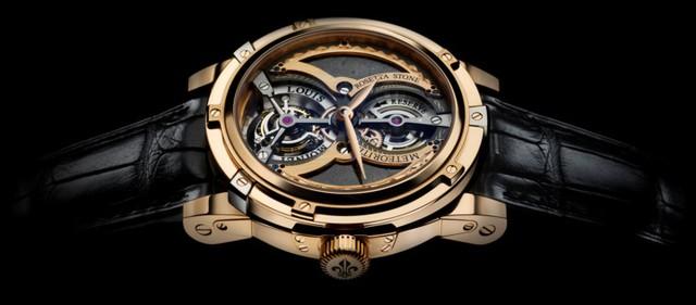 Louis Moinet Meteoris Watch do Louis Moinet - một trong những thợ chế tác đồng hồ vĩ đại nhất trong lịch sử thực hiện. Nó có giá lên tới 4,6 triệu USD.