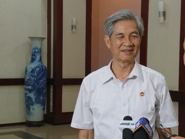 Ông Bùi Danh Liên, Phó Chủ tịch thường trực Hiệp hội vận tải Hà Nội.