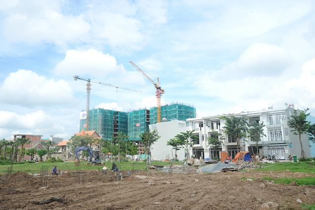 Dự án nhà ở vừa túi tiền Him Lam Phú Đông nằm trong khu đô thị cùng tên tại quận Thủ Đức