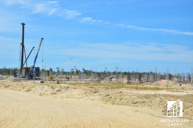 Hạng mục casino đang được xây dựng.