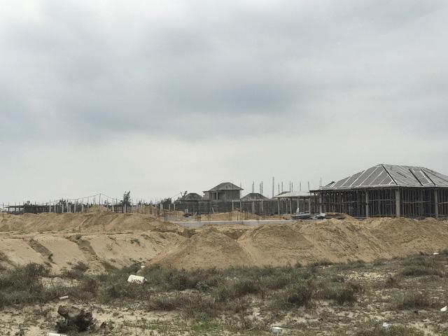 Khu resort chết yểu nhiều năm hiện nay đã được tái khởi động xây dựng ngay cửa biển Nam Hội An.
