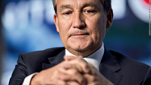 CEO United Airlines Oscar Munoz.