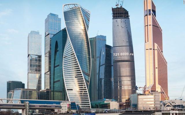 Tòa nhà Evolution ở Moscow (Nga)