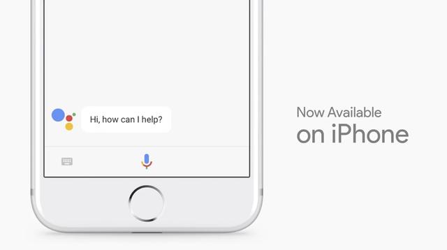 Trợ lý ảo Google Assistant đã có mặt trên hệ điều hành iOS.