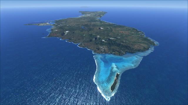 Dù nằm rất xa nước Mỹ và biệt lập giữa biển nhưng đảo Guam đóng vai trò quan trọng cho chiến lược của Mỹ ở châu Á – Thái Bình Dương. Vùng lãnh thổ này là nơi đặt căn cứ quân sự phức hợp Marianas, trung tâm chỉ huy quân sự của Mỹ. Tại đây, người Mỹ bố trí cả sân bay và quân cảng với sức mạnh quân sự to lớn. Nằm cách Triều Tiên 3.520 km, hòn đảo có chiều dài 57,6 km, rộng từ 9,6 km tới 19,2 km là nơi sinh sống của 162.000 người.