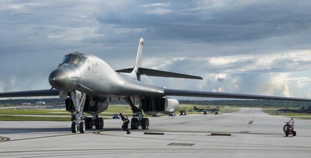 Cuối tháng 7, Mỹ đã cử thêm những chiếc B-1B Lancer tới đây trong bối cảnh căng thẳng với Triều Tiên có dấu hiệu leo thang.