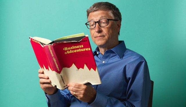 Các tỷ phú đều có thói quen đọc sách.