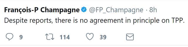 TPP-11: Các nước lạc quan, Canada nói rằng vẫn chưa đi đến đích - Ảnh 1.