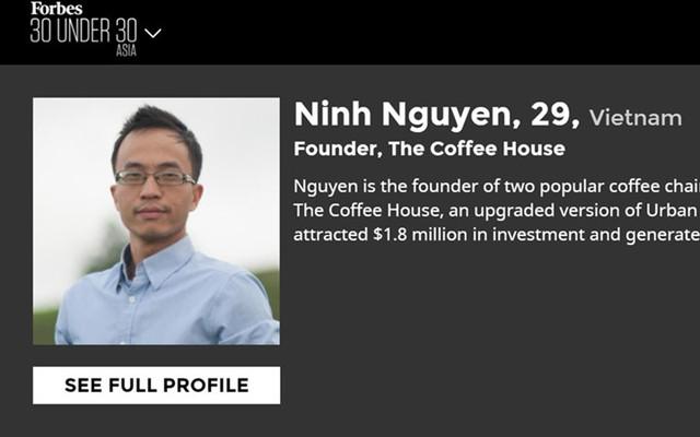 Nguyễn Hải Ninh từng làm tại PepsiCo Việt Nam ở vị trí quản trị viên tập sự trước khi khởi nghiệp