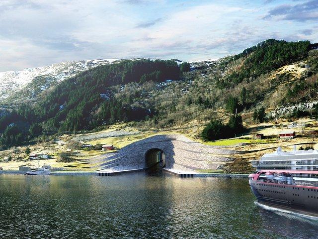 Na Uy phá vỡ mọi giới hạn với kế hoạch xây hầm vượt núi cho tàu thủy đầu tiên trên thế giới - ảnh 2