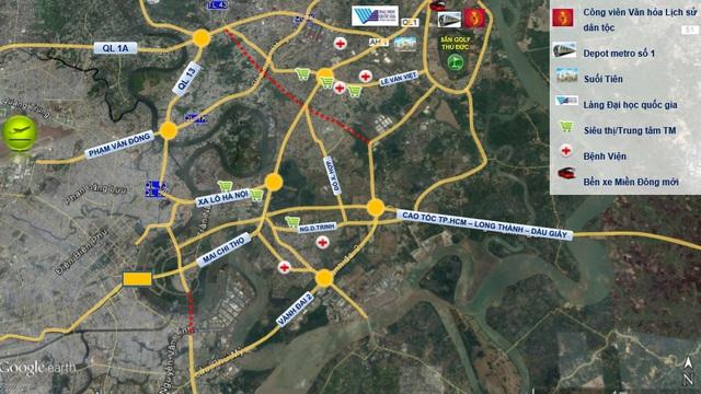 Mạng lưới giao thông đô thị tại Tp.HCM