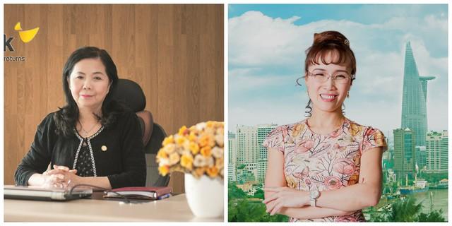 Hai người phụ nữ quyền lực nhất ở HDBank - bà Lê Thị Băng Tâm và bà Nguyễn Thị Phương Thảo