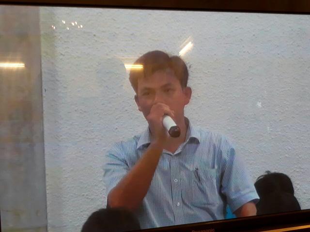 Ông Phạm Xuân Quang, kế toán trưởng Công ty Lọc hóa dầu Bình Sơn.