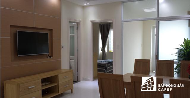 Các căn hộ tại Pruksa đều có diện tích 62 m2, được thiết kế bởi kiến trúc sư Thái Lan, gồm 1 phòng khách;khu bếp, 2 phòng ngủ và 1 phòng vệ sinh, đáp ứng nhu cầu của phần lớn các hộ gia đình hiện nay.