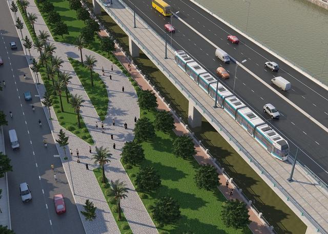 Phối cảnh siêu dự án đại lộ ven sông Sài Gòn do tập đoàn Tuần Châu đề xuất